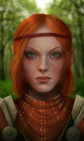 Aveline Vallen by CattSparrow