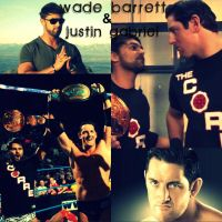 Wade Barrett and Justin by XxBeautifulDreamerxX