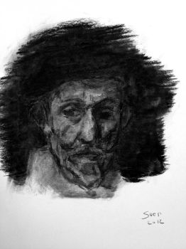 Portrait of a Beard by suibne