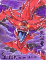 Slifer the sky dragon by Dokuro