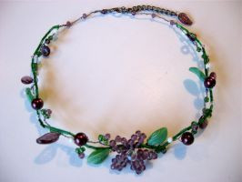 Clematis Choker by TernFeather