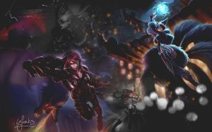 League Of Legends Wallpaper by SophieLaFreak