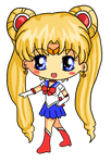 Sailor Moon Chibi by IcyPanther1