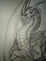 Nazzireth: The Dark Dragon 2 by The-MuseDragon