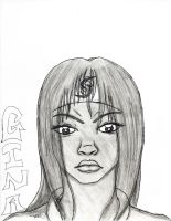 Regina Gainer teen drawing from 08 by mohnman