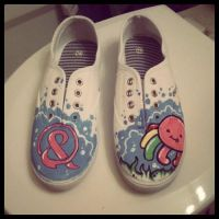 Squidgy Shoes by MonteyRoo
