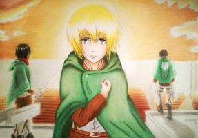 (Armin Arlert) i will fight by haru4lavi