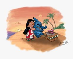 Lilo and Stitch by ArbitraryJane