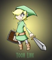 toon link with bg by pnutink