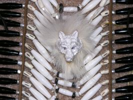 In the Spirit of White wolf 5 by lamelobo