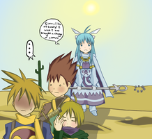 Golden Sun: Desert Problems by MirielleChan