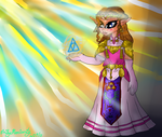 Ocarina of Time Princess Zelda (digital version) by lollypop081