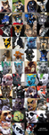 Fursuits Over Time by Tsebresos