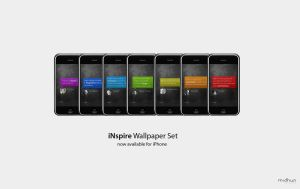 iNspire Wallpaper Set - iPhone by magneto-ms