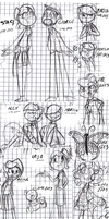 Sketches 1# by Kas-the-Cat