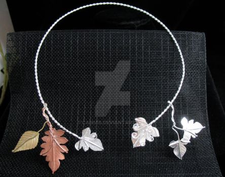 Ancient Leaves Torc by camias