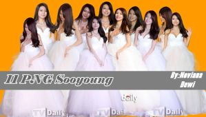 Sooyoung  With White Dress PNG Pack by Dewinoviana