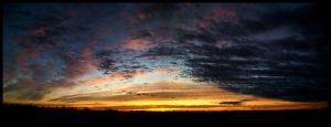 Rooftop January Panorama by FramedByNature