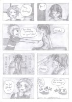 aph: Something on your T-shirt (DenIre comic) by LoveEmerald