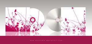 Cd cover. Floral by zanstudio