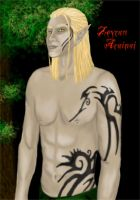 Zevran shirtless by AWickedShade