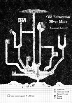 Barrowton Silver Mine - Level 1 by Brian-van-Hunsel
