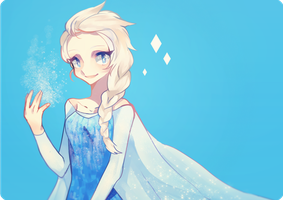 Elsa by theblackshinju