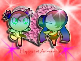 Happy 1st Aniversery by capcappucca222