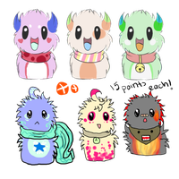 ScarfBlob Adopts: OPEN by BubbleChii