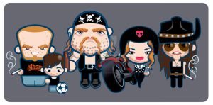 Chopper Family-01 by LuisArriola