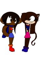 if Maron and Jessica change clothing by loue1