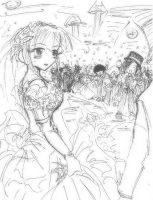 Hinata's wedding by NASKdoujinshi