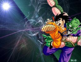 Piccolo Vs Goku 2 by BK-81