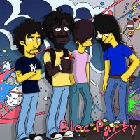 Bloc Party - Color by SimpsonsCameos