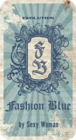 Fashion Blue by etiquetas