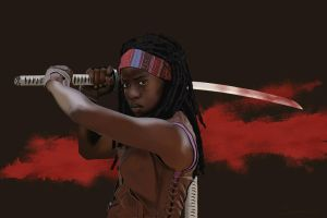 Michonne by garrypfc