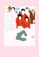 The Royal Tenenbaums by VulpesvulpesLady
