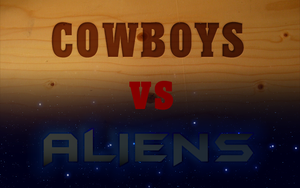 cowboys vs aliens by DarreToBe