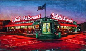 'INGLESIDE DINER' detail by JerryHubbard