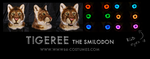 Tigeree the smilodon by WMW66-costumes