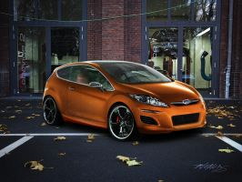 Ford Verve Orange by NeneDs