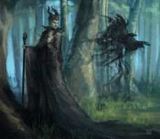 Maleficent by Faye-l
