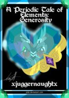 A Periodic Table of Elements: Generosity Cover by Eztp