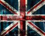 Union Jack wallpaper by evionn