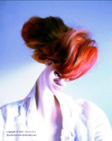 Portrait of redhead lady by Karolusdiversion