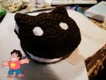 Crochet Cookie Cat by KnottyBoiCrochet