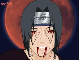 Itachi-The final smile by mo3ali