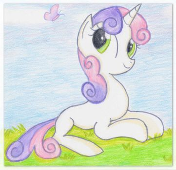 Sweetie Belle by Floppaw
