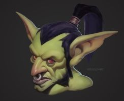 Warcraft Goblin by Icecoldart