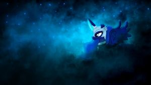 Luna in nebula by sgtwaflez